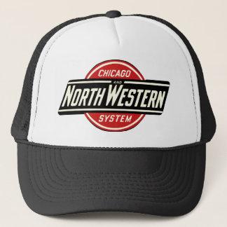 Chicago & Northwestern Railroad Logo 1 Trucker Hat