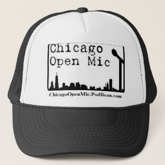 Chicago Open Mic Trucker Hat