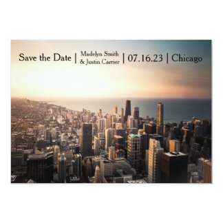 Chicago Photo - Save the Date Card