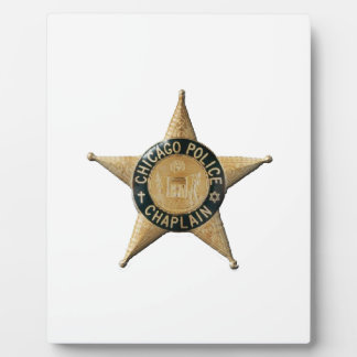 Chicago Police Chaplain Plaque