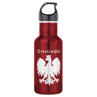 Chicago Polska Water Bottle