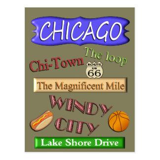 Chicago - Postcard