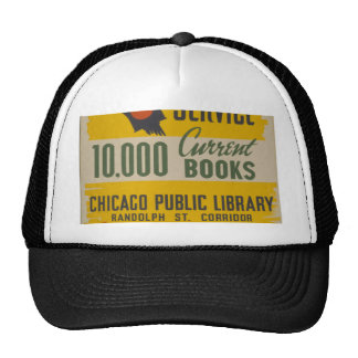 Chicago Public Library Curb Service Mesh Hats