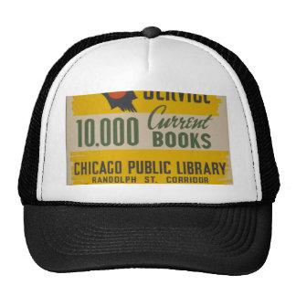 Chicago Public Library Curb Service Cap