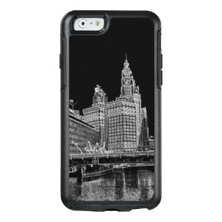 Chicago River 1967 Wrigley Building Sun Times Bldg OtterBox iPhone 6/6s Case