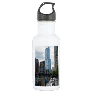 Chicago River Walk 532 Ml Water Bottle