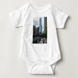 Chicago River Walk Baby Bodysuit