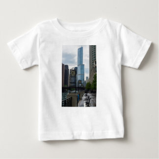 Chicago River Walk Baby T-Shirt