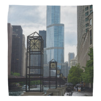 Chicago River Walk Bandana