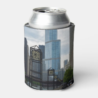 Chicago River Walk Can Cooler
