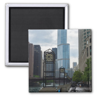 Chicago River Walk Magnet