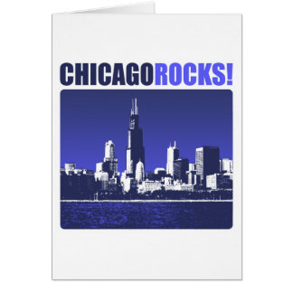 Chicago Rocks! Greeting Card