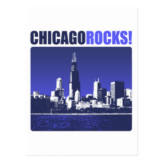 Chicago Rocks! Postcard