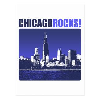 Chicago Rocks! Postcard