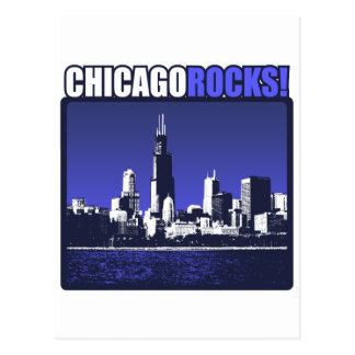 Chicago Rocks Post Cards