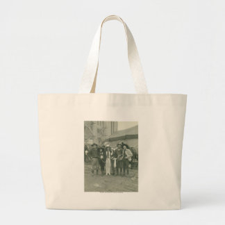 Chicago Rodeo, 1929. Large Tote Bag