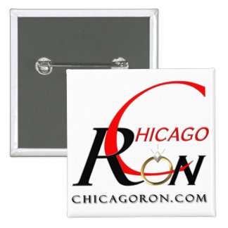 """Chicago Ron"" Logo Button"