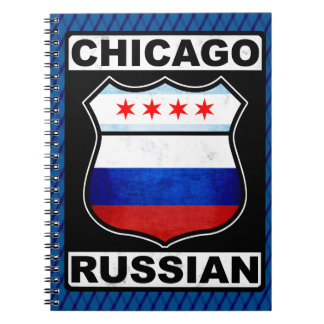 Chicago Russian American Notepad Notebooks