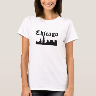 Chicago Silhouette Skyline T-Shirt