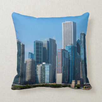 Chicago Skycrapers Throw Pillow