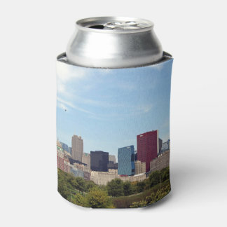 Chicago Skyline 208 Can Cooler