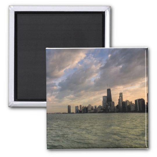 Chicago Skyline 2 Magnet