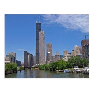 Chicago Skyline 4 Postcard