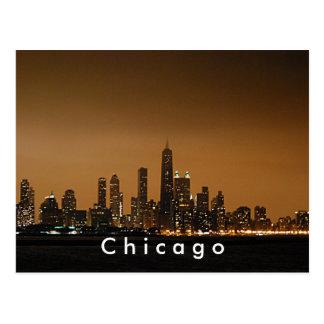 Chicago Skyline at the John Hancock Center Post Card