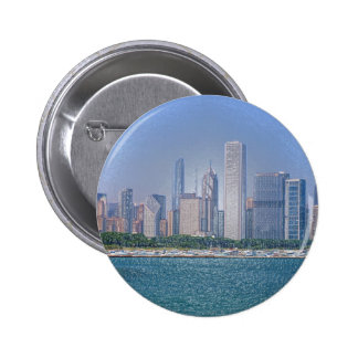 Chicago Skyline Pin