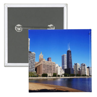 Chicago Skyline Buttons