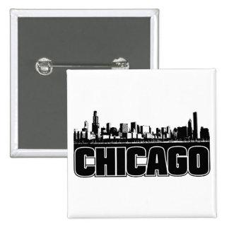 Chicago Skyline Pins