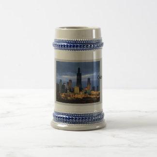 Chicago Skyline Beer Stein