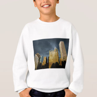 Chicago Skyline Before A Storm Sweatshirt