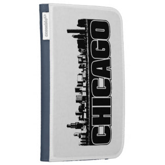 Chicago Skyline Kindle Keyboard Cases