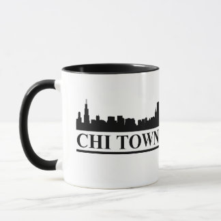 Chicago Skyline Chi Town Mug