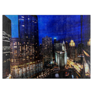 Chicago Skyline Cutting Board