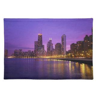 Chicago Skyline Place Mat