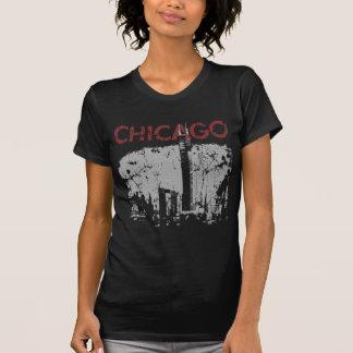 Chicago Skyline dark t shirt