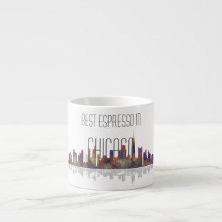 Chicago Skyline Espresso Mug