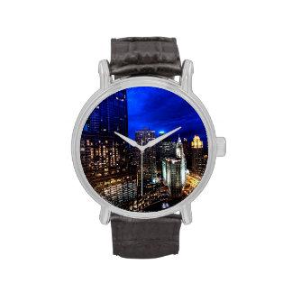 Chicago Skyline Wrist Watch