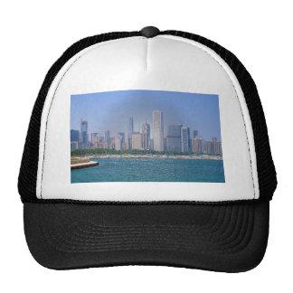 Chicago Skyline Trucker Hat