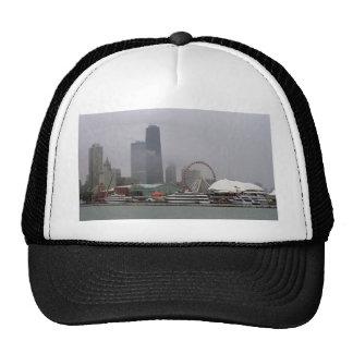 Chicago skyline, Illinois, U.S.A. Hats