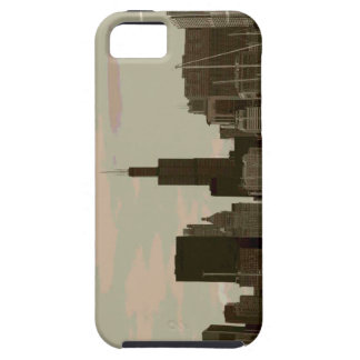 Chicago skyline iphone 5s tough case iPhone 5 covers