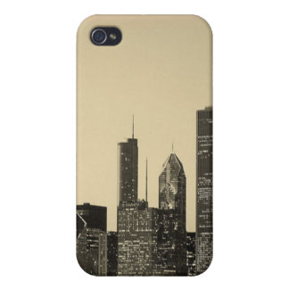 Chicago Skyline iPhone 4 Covers