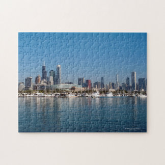 Chicago Skyline Jigsaw Puzzle