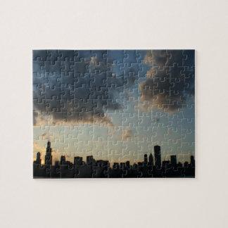 Chicago Skyline Jigsaw Puzzles