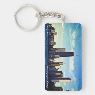 Chicago Skyline Key Ring
