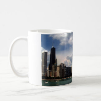 Chicago Skyline Lake Michigan Summer Coffee Mug