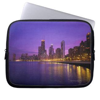 Chicago Skyline Laptop Computer Sleeves