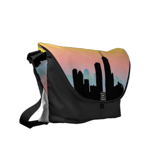 Chicago Skyline Messenger Bags